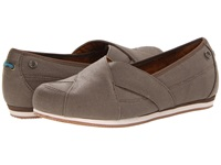 Mozo Sport Flat Canvas Walnut Women's Flat Shoes Brown