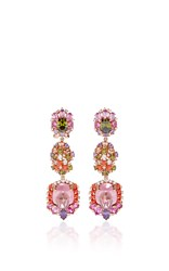 Anabela Chan Sugar Rush Drop Earrings Pink