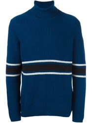 Wood Wood 'Patrick' Pullover Blue