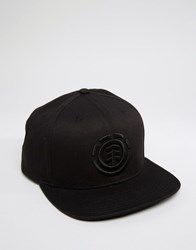 Element Snapback Cap Knutsen Black