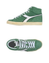 Diadora High Tops And Trainers Emerald Green