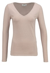 Zalando Essentials Long Sleeved Top Beige Mottled Beige