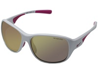 Nike Exhale White Vivid Pink Sport Sunglasses