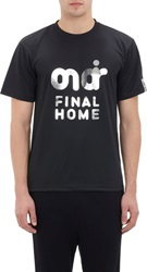 Final Home 'On Air' T Shirt Black Size L