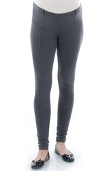 Everly Grey Women's 'Bingley' Maternity Leggings Charcoal