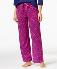Karen Neuburger Printed Pajama Pants Mini Geo