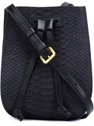 Maiyet Mini 'Sia' Bucket Bag Blue