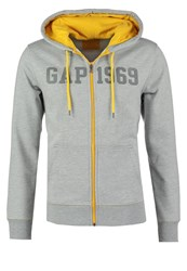 Gap Tracksuit Top Grey Heather Mottled Grey