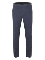Racing Green Franco Semi Plain Trouser Navy