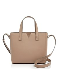 Vince Baby East West Satchel Nude