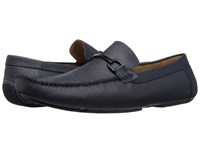 Kenneth Cole Reaction Sound System Midnight Navy Men's Slip On Shoes Blue