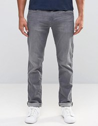 Esprit Slim Fit Jeans In Grey Wash Grey Med Wash