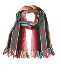 Chamula Oblong Scarves Green