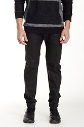 Micros Commune Coated Sateen Jogger Pant Black