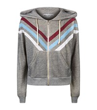 Wildfox Couture Tri Stripe Milk Run Hoodie Female