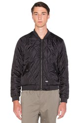 Performative Bomber Jacket Black