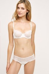 Anthropologie Simone Perele Delice Boyshorts White
