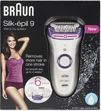 Braun Wet And Dry Epilator