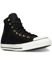 Converse Men's Chuck Taylor All Star Hi Corduroy Casual Sneakers From Finish Line Black Egret Black