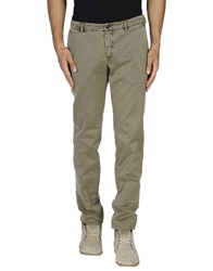 Gold Case By Rocco Fraioli Casual Pants Military Green