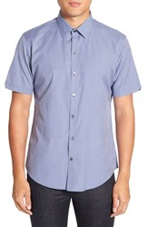 Zachary Prell Men's 'Bena' Regular Fit Check Sport Shirt