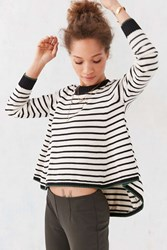 Alice And Uo Hortense Swing Sweater Black And White