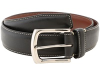 Torino Leather Co. 35Mm Burnished Tumbled Black Men's Belts