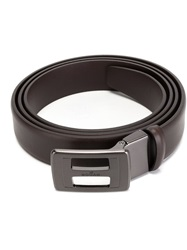 Hogan Buckled Belt Brown