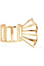 Arme De L'amour Gold Plated Cuff