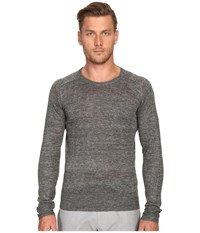 Todd Snyder Saddle Pocket Crew Sweater Charcoal