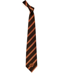 Eagles Wings Oklahoma State Cowboys Striped Tie Team Color