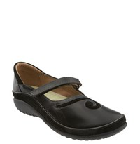 Naot Footwear Women's Naot 'Matai' Mary Jane Black Madras Black Suede