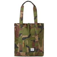 Herschel Supply Co. Market Tote Bag Woodland Camo Army Rubber