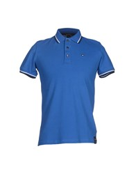Marville Topwear Polo Shirts Men Bright Blue