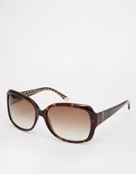 Juicy Couture Oversized Sunglasses Brown