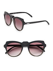 Minkpink 48Mm Cat's Eye Sunglasses Black