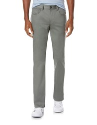 Perry Ellis Slim Fit Sateen Jeans Castor Grey