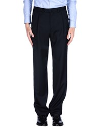 Isaia Trousers Casual Trousers Men Black