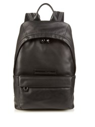 Mcq By Alexander Mcqueen Stud Embellished Straps Leather Backpack Black