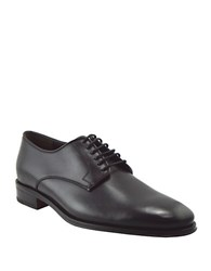Bruno Magli Werter Leather Lace Up Derby Shoes Black