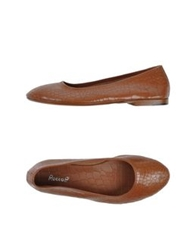 Rocco P. Ballet Flats Brown