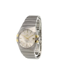 Omega 'Constellation' Analog Watch Stainless Steel