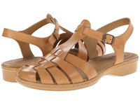 Softspots Holly Light Tan M Vege Women's Sandals Yellow