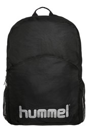 Hummel Stay Authentic Rucksack Black Silver