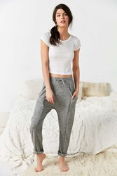 Out From Under Cozy Crop Jogger Pant Grey