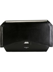 Givenchy Bow Cut Clutch Black