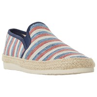 Dune Funfair Canvas Espadrilles Red