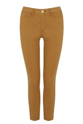 Warehouse Cropped Signature Skinny Jeans Brown