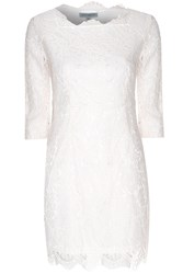 Alice And You Scallop Lace Dress Cream