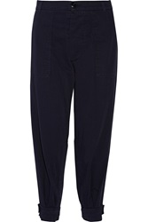 Band Of Outsiders Cotton Twill Tapered Pants